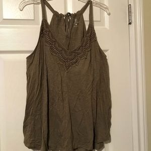 USED New York & Co. Tank Top SIZE XL WOMENS
